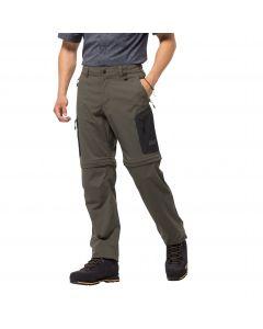 Spodnie softshell ACTIVATE LIGHT ZIP OFF MEN grape leaf