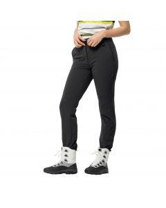 Spodnie zimowe damskie WINTER LIFESTYLE PANTS W Black