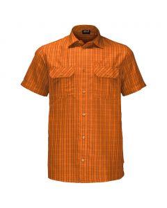 Koszulka THOMPSON SHIRT MEN desert orange checks