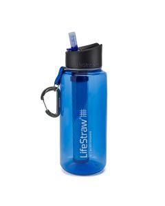 Butelka osobista z filtrem do uzdatniania wody LIFESTRAW GO 1 L blue