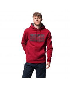 Bluza z kapturem męska BRAND HOODY M dark lacquer red