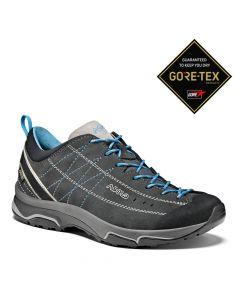 Damskie buty podejściowe Asolo NUCLEON GV ML graphite/silver/cyan blue