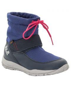 Buty zimowe dla dzieci KIWI WT TEXAPORE MID K dark blue / red