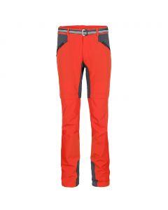 Spodnie trekkingowe Milo Marree cherry tomato/dark grey