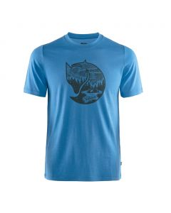 T-shirt Fjallraven Abisko Wool Fox un blue