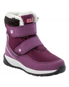 Buty zimowe dla dzieci POLAR WOLF TEXAPORE MID VC K Purple / Coral