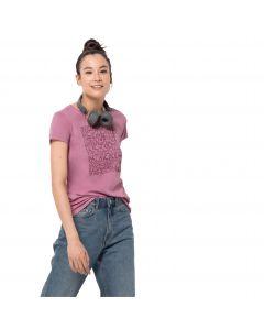 T-shirt damski OCEAN LETTER T W dusty pink