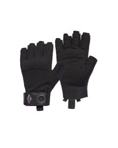 Rękawiczki wspinaczkowe Black Diamond CRAG HALF-FINGER GLOVE black