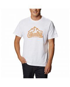 T-shirt męski Columbia Path Lake Graphic Tee white