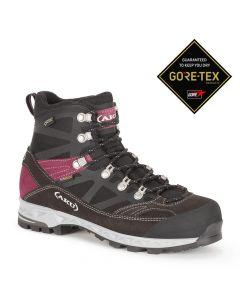 Damskie buty górskie AKU TREKKER PRO GTX black/violet