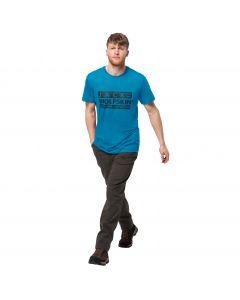 Męski T-shirt BRAND T M blue jewel