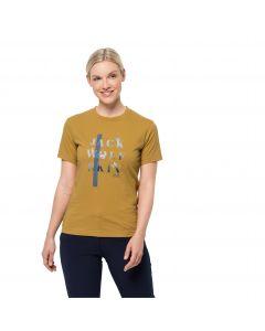 Koszulka damska MOUNTAIN T W Golden Amber