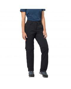 Spodnie softshell ACTIVATE LIGHT ZIP OFF WOMEN black