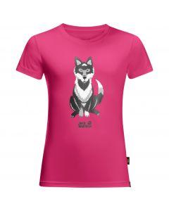 Koszulka dziecięca WOLF T KIDS pink peony