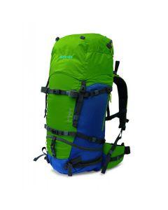 Plecak ATTACK 45 green/blue