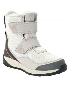 Buty zimowe dla dzieci POLAR BEAR TEXAPORE HIGH VC K light grey / off white