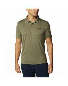 Koszulka męska Columbia ZERO RULES green