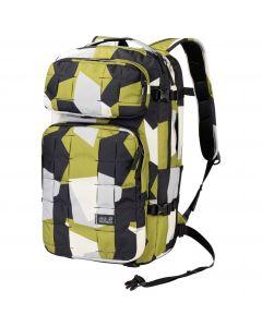 Plecak na notebooka TRT 22 PACK green geo block