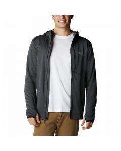 Bluza męska Columbia Park View Fleece Full Zip Hoodie black heat