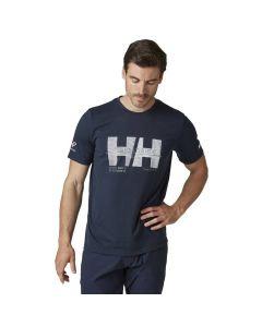Koszulka męska Helly Hansen Racing T-shirt navy