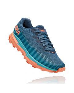 Damskie buty do biegania Hoka One One Torrent 2 real teal/cantaloupe