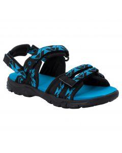 Sandały dziecięce 2 IN 1 SANDAL K black / blue