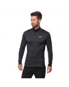 Męska koszulka termoaktywna ARCTIC XT HALF ZIP MEN black