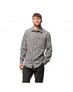 Koszula męska RIVER TOWN SHIRT M pebble grey checks