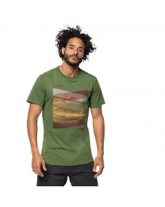 T-shirt męski MOTOSU LAKE T M deep forest