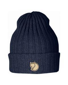 Wełniana czapka Fjallraven Byron Hat dark navy