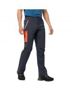 Spodnie softshell męskie OVERLAND PANTS M ebony