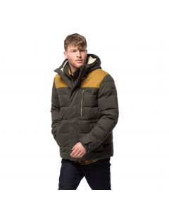 Męska kurtka zimowa LAKOTA JACKET brownstone