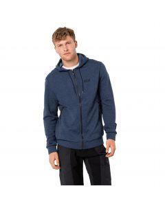 Bluza polarowa męska FINLEY HOODED JACKET M night blue