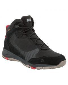 Buty męskie na wędrówki ACTIVATE XT TEXAPORE MID M black / red