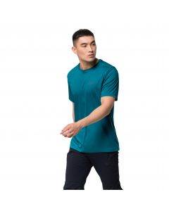 Koszulka męska TECH T M Baltic Blue