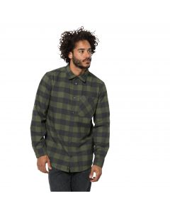 Męska koszula RED RIVER SHIRT woodland green checks