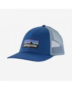 Czapka Patagonia P-6 Logo LoPro Trucker superior blue