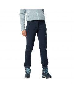 Damskie spodnie softshellowe ZENON SOFTSHELL PANTS WOMEN midnight blue