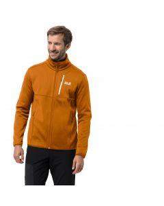 Męska kurtka polarowa KIEWA JACKET M rusty orange
