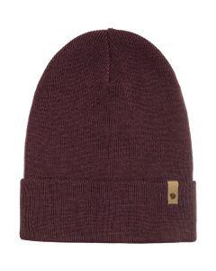 Czapka zimowa Fjallraven Classic Knit Hat dark garnet