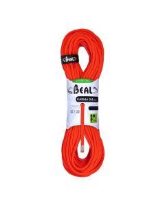 Lina wspinaczkowa pojedyncza Beal KARMA 60 m / 9,8 mm solid orange