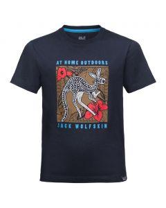 Koszulka chłopięca KUKU TRAIL T BOYS night blue