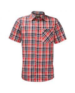 Koszulka SAINT ELMOS SHIRT MEN fiery red checks