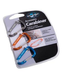 Karabinek brelok CARABINER zestaw 3 szt.