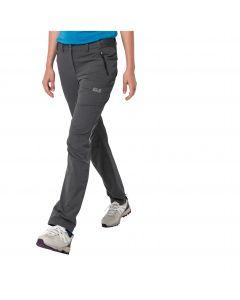 Spodnie trekkingowe damskie DELTA PANTS W dark iron