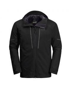 Męska przeciwdeszczowa kurtka SKEI TRAIL JKT black
