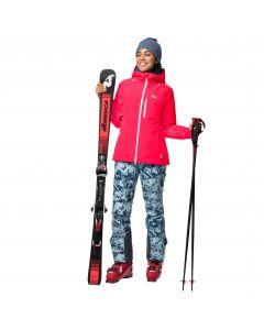 Kurtka narciarska damska GREAT SNOW JACKET W Flashing Pink