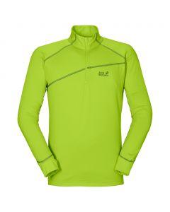 Koszulka ACTIVE ZIP SHIRT XT M lime green