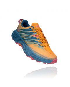 Buty do biegania damskie Hoka One One Speedgoat 4 saffron/provincial blue