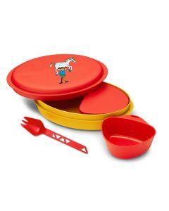 Lunchbox dla dzieci Primus Meal Set Pippi red